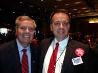 Rick Martin with Senator Lindsey Graham